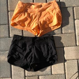Pair of Ivivva Speed Shorts Girls Size 10